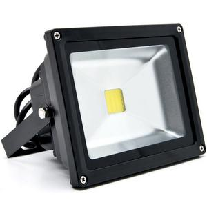 Biltek 20W LED Flood Light Cool White High Power Outdoor Spotlights Industrial Lighting Home Security Lighting Outdoor House Business Surveillance Safety Wall Washer High Building Billboard Garden