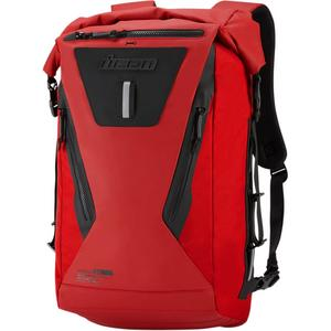 Icon 3517-0439 Dreadnaught Backpack - Red