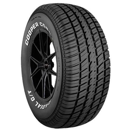 215/70R14 Cooper Cobra Radial G/T 96T White Letter Tire