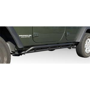 Rugged Ridge 11504.22 RRC Rocker Guard Fits 07-18 Wrangler (JK)