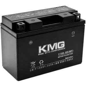 KMG YT9B-BS Sealed Maintenace Free 12V Battery High Performance SMF OEM Replacement Maintenance Free Powersport Motorcycle ATV Scooter Snowmobile Watercraft KMG