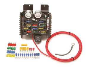 Painless Wiring 50101 11 Fuse Compact Universal Race/Pro Street Fuse Block