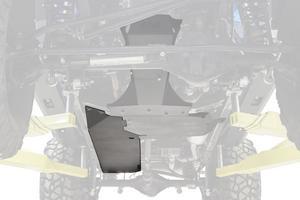 Fab Fours JK3030-1 Gas Tank Skid Plate Fits 07-18 Wrangler (JK)