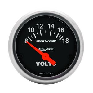 AutoMeter 3391 Sport-Comp Electric Voltmeter Gauge