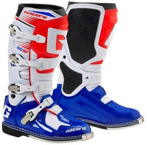 Gaerne SG-10 Boots Red/White Multi (Red, 13)