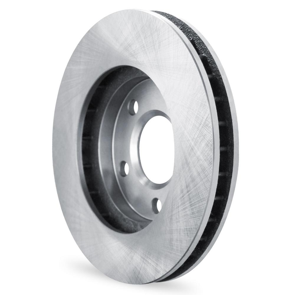 For 2007-2008 Suzuki Forenza, Reno Front eLine Plain Brake Rotors+Ceramic Pads