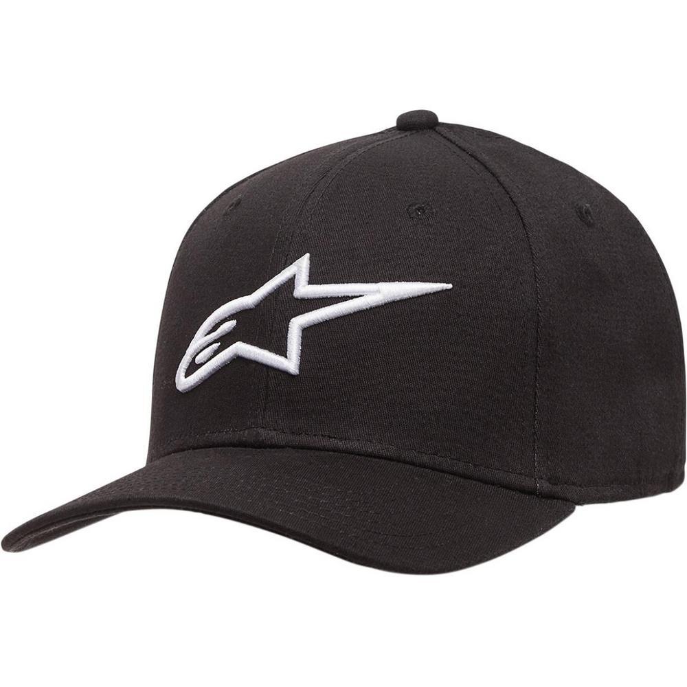 Alpinestars Ageless Curve Hat Black/White (Black, Small - Medium)