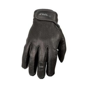 Fly Racing Rumble Leather Gloves - Perforated (Black, XXX-Large)