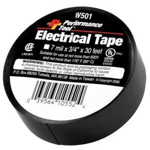 Performance Tools W501 PVC Electrical Tape - 3/4in. x 30ft.