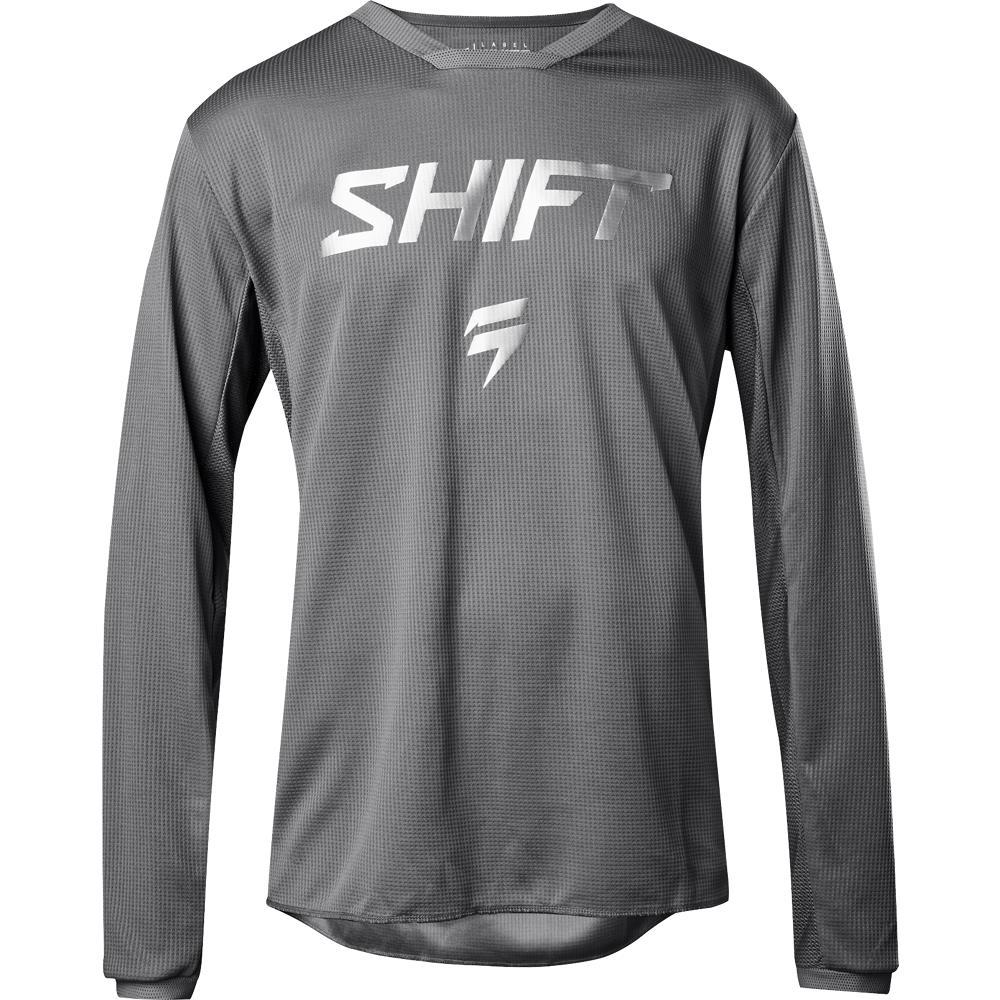 Shift WHIT3 Haunted SE Jersey (Gray, Small)
