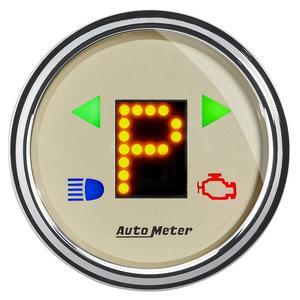 AutoMeter 1860 Antique Beige Automatic Transmission Shift Indicator