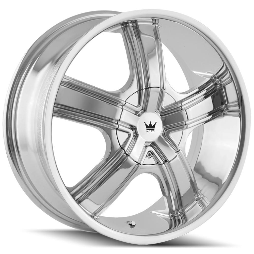 "Mazzi 359 Boost 20x8.5 5x110/5x115 +35mm Chrome Wheel Rim 20"" Inch"