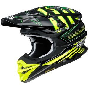 Shoei VFX-EVO Grant 3 Helmet Yellow (TC-3) (Yellow, Medium)