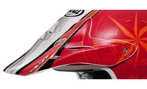 Arai Helmets 091978 Visor for XD3 Helmet - Salminen Red