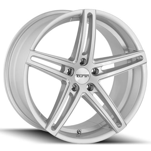 "Touren TR73 20x8.5 5x120 +30mm Silver/Milled Wheel Rim 20"" Inch"