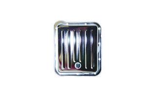 SPECIALTY CHROME Chrome Steel Stock Depth Finned Transmission Pan C4 P/N 7600