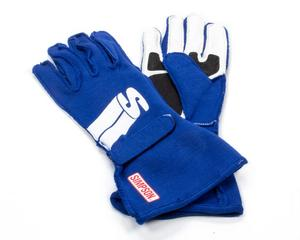 SIMPSON SAFETY Large Blue Double Layer Impulse Driving Gloves P/N IMLB