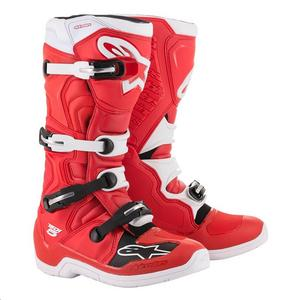 Alpinestars Tech 5 Boots Red/White (Red, 15)