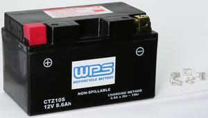 WPS Maintenance Free Sealed AGM Motorcycle Battery CTZ10S