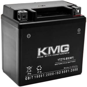 KMG YTZ7S Sealed Maintenace Free 12V Battery High Performance SMF OEM Replacement Maintenance Free Powersport Motorcycle ATV Scooter Snowmobile Watercraft KMG
