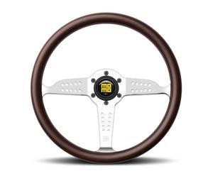 Momo Wood Grip 3 Spoke Super Grand Prix Steering Wheel P/N GRA35WDOP