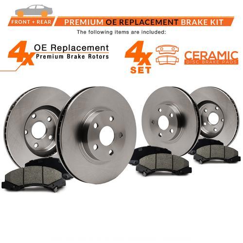 Max Brakes Front Ceramic Pads KT114951-2