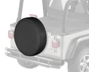 """Bestop 61028-15 Black Denim Small Tire Cover for tires 28"""" diameter, 8"""" deep"""