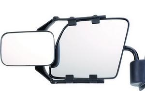 """CIPA Adjustable Clip-On Mirror 11952  Fits Mirrors 7 - 10"""" Tall Left Or Right"""