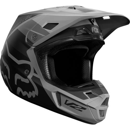 Fox V2 Murc Helmet (Black, X-Small)