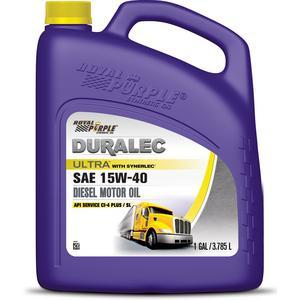 ROYAL PURPLE 15W40 Synthetic Duralec Ultra Motor Oil 1 gal P/N 83561