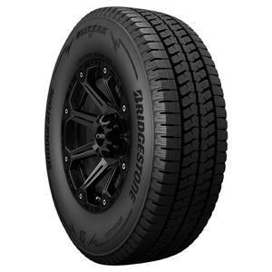2-LT255/75R17 Bridgestone Blizzak LT 111R C/6 Ply BSW Tires