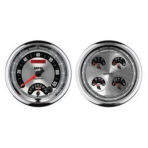 AutoMeter 1205 American Muscle Quad Gauge/Tach/Speedo Kit