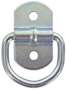 Buyers B23SS (25) Surface Mounted Rope Ring - Stainless Steel