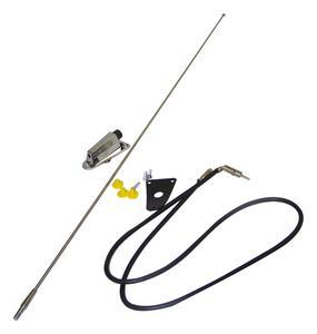 Crown Automotive 8127842K Antenna Kit Fits CJ5 CJ6 CJ7 Scrambler Wrangler (YJ)