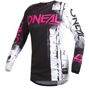 ONeal Element Shred Womens Jersey (Pink, Large)