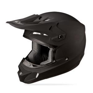 Fly Racing Adult Kinetic Racing Solid Matte Black Helmet Size 2XL XXL