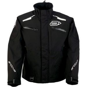 Arctiva Summit Shell Jacket Black/White (Black, X-Large)