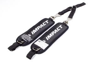 IMPACT RACING Black Adult Y-Strap Arm Restraint Harness Kit P/N 75000910