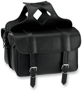 All American Rider 3020 Flap-Over Saddlebag - 16.5in.L x 6in.W x 11in.H