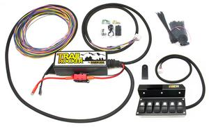 Painless Wiring 57004 Trail Rocker Fuse And Relay Center Fits Wrangler (JK)