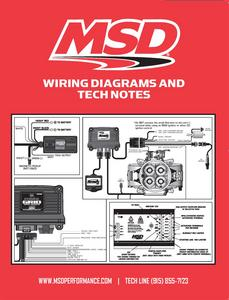 MSD Ignition 9615 Wiring Diagrams/Tech Notes