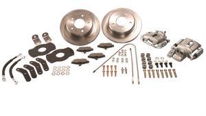 SSBC Performance Brakes A130-2 Drum To Disc Brake Conversion Kit Fits 76-86 CJ7
