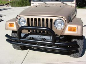Rampage 8620 Front Double Tube Bumper