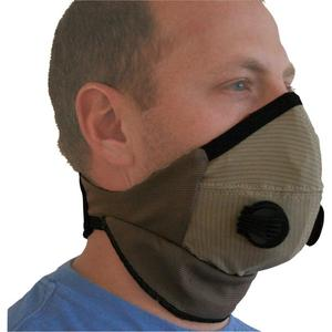 ATV-Tek Pro Series Rider Dust Mask Solid (Brown, X-Large)