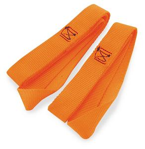 Ancra 45214-12 Soft Ties - 18in. - Orange