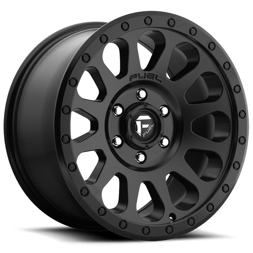 "Fuel D579 Vector 18x9 6x135 +20mm Matte Black Wheel Rim 18"" Inch"
