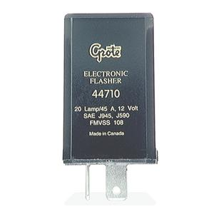 Grote 2 terminal, 20-Lamp, Heavy Duty Electronic Flasher (44710)