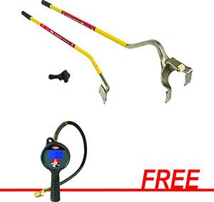AME International Golden Buddy Tire Changing System with FREE Accu-Flate XL