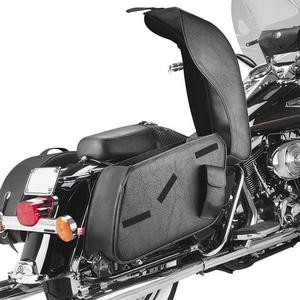 All American Rider 8800P Futura 2000 Saddlebags - X-Large - Classic (Not Studs)