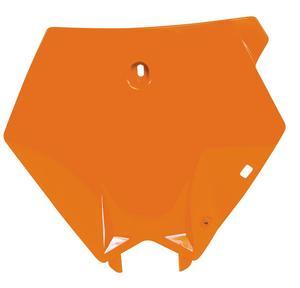 Polisport 8660900002 Front Number Plate - Orange